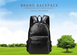 VORMOR брендовый мужской <b>рюкзак</b>, кожаный школьный ...