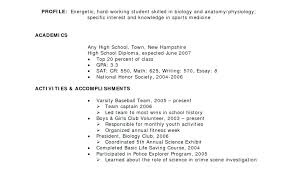 resume for high school students examples resume for a highschool student samuelbackman com