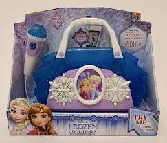 Frozen Light Up Boombox Disney Frozen Karaoke Player Boombox Sing Along Cool Tunes Microphone Mp3 Jack