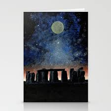 Stonehenge Designs Cards Stonehenge Stationery Cards By Edhengeveldspaceart