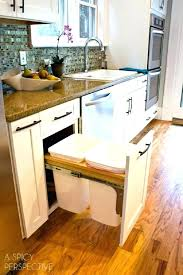 Kitchen Trash Can Ideas Unique Ideas