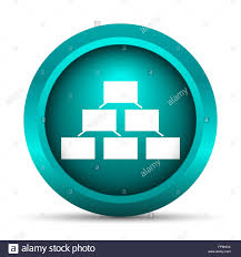 Background For Organizational Chart Organizational Chart Icon Internet Button On White