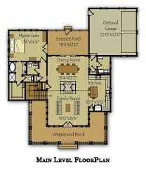 bayside main level floor plan