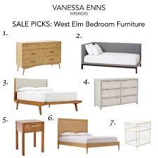 west elm bedroom furniture. Vanessa Enns Interiors Sale Picks West Elm Bedroom Furniture S