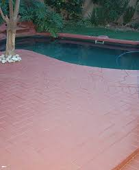 paving paint on concrete and cement paving