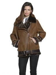 lindsay shearling coat