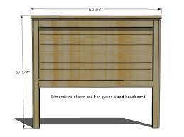 queen size headboard measurements how to build a rustic wood headboard how tos diy