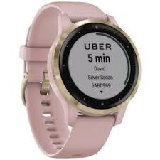 <b>Garmin Vivoactive 4S GPS</b> Smartwatch Dust Rose/Light Gold ...