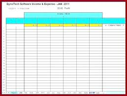Monthly Expense Tracker Excel Household Expense Tracking Template