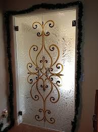 glass painting designs on doors lovely frameless doors sans soucie art glass