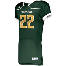 Russell Color Block Pro Football Jersey Fitted Spandex
