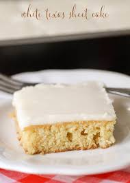 vanilla texas sheet cake white texas sheet cake recipe
