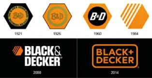 black and decker logo. b\u0026d logo history black and decker