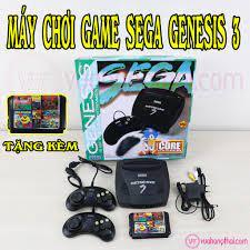 Máy chơi game 6 nút Sega Mega Drive 16bit thế hệ 3 - tặng kèm băng 11 game  - Đồ chơi điện tử & Máy tính đồ chơi