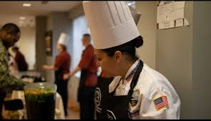Navy Cook Celebrity Chef Trains Navy Culinary Specialists Chef J Ponder