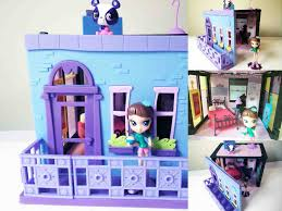Lovely Littlest Pet Shop Blythe Bedroom Style Set Unboxing Building And Review
