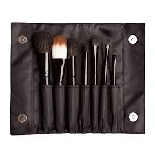 sleek 7 piece brush set multi