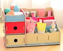 diy makeup organizer box ideas diy makeup organizer box
