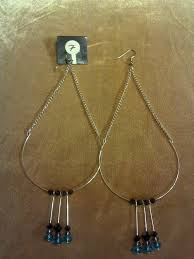 make a pair of chandelier earrings in under 30 minutes by