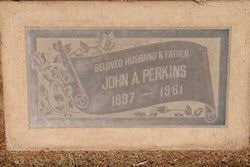John Alfred Perkins (1897-1961) - Find A Grave Memorial