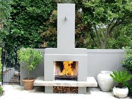 patio fireplace kit diy outdoor fireplace kits uk