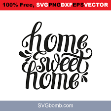 Futhermore it seems i can position svg elements with translate and with the x/y attribute. Free Svg Home Sweet Home Svgbomb