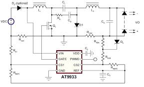 1w led driver circuit diagram the wiring diagram led driver wiring diagram nilza circuit diagram