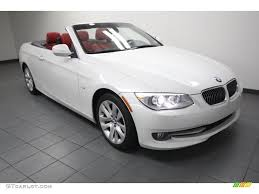 BMW 3 Series bmw 3 series in white : 2011 3 Series 328i Convertible - Alpine White / Coral Red/Black ...