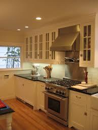 absolute black granite cottage kitchen