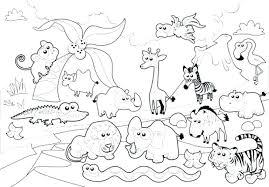 zoo animal coloring pages a3950 zoo coloring pages kids free printable animal sheets page zoo animals coloring worksheet