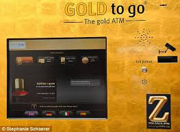 Gold To Go Vending Machine Amazing First Goldvending Machine Comes To Britain