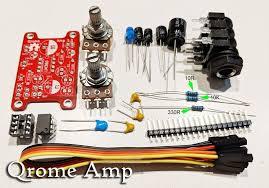 diy kit qrome guitar amplifier image 0