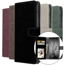 Fashion <b>Pure Color Leather</b> Prevent Scratch Phone Case Cover for ...