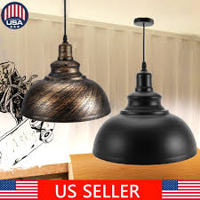 Barn Style Pendant Light Details About Barn Industrial Pendant Lighting For Kitchen Island Light Metal Hanging Light Us