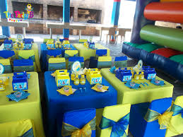Minions themed party cape town - The Party B | Kids party set-ups and decor  hire cape town