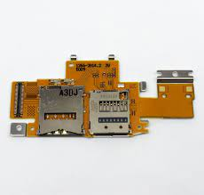 For Sony Xperia Tablet Z / SGP311 / SGP312 / SGP321 SIM Card and SD Card  Reader Contact Flex Cable Replacement|flex cable|sim reader cardcable flex  - AliExpress