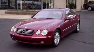 2000 Mercedes-Benz CL500 - YouTube