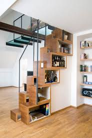 Space Saving Shelves Interior Under Stairs Storage Solutions Staircase Shelves Your