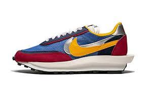 Amazon Com Nike Mens Ld Waffle Sacai Varsity Blue Del Sol