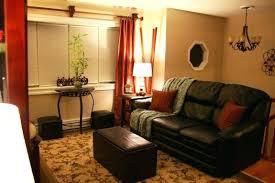 Burnt Orange And Brown Living Room Property Impressive Inspiration Design