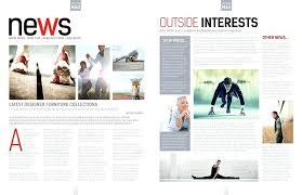 Magazines Layouts Ideas Magazine Layout Template