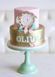 Dream Catcher Baby Shower Cake Rise Cupcakes Dream Catcher Baby Shower Cake 11