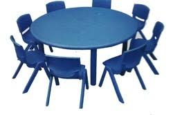 Circle Table Circle Table School Mein Prayog Hone Wali Mez