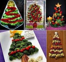 Christmas food decorations