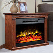 Buckingham Entertainment Center With Electric Fireplace FromAmish Electric Fireplace