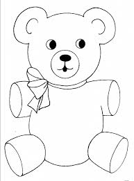 Show them the proper way how to color. Free Printable Teddy Bear Coloring Pages For Kids Teddy Bear Coloring Pages Teddy Bear Template Cool Coloring Pages