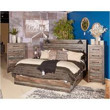 B211-57 Ashley Furniture Drystan Queen Panel Bed