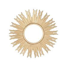 round starburst mirror ask question about in gold target