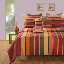 colorful bed sheets. Spread Colorful Vibes Through Vibrant Stripes Of Cotton Bed Linens Sheets