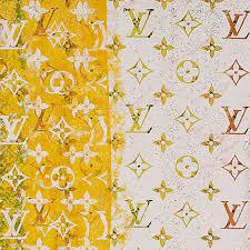 Iphone Yellow Louis Vuitton Wallpaper